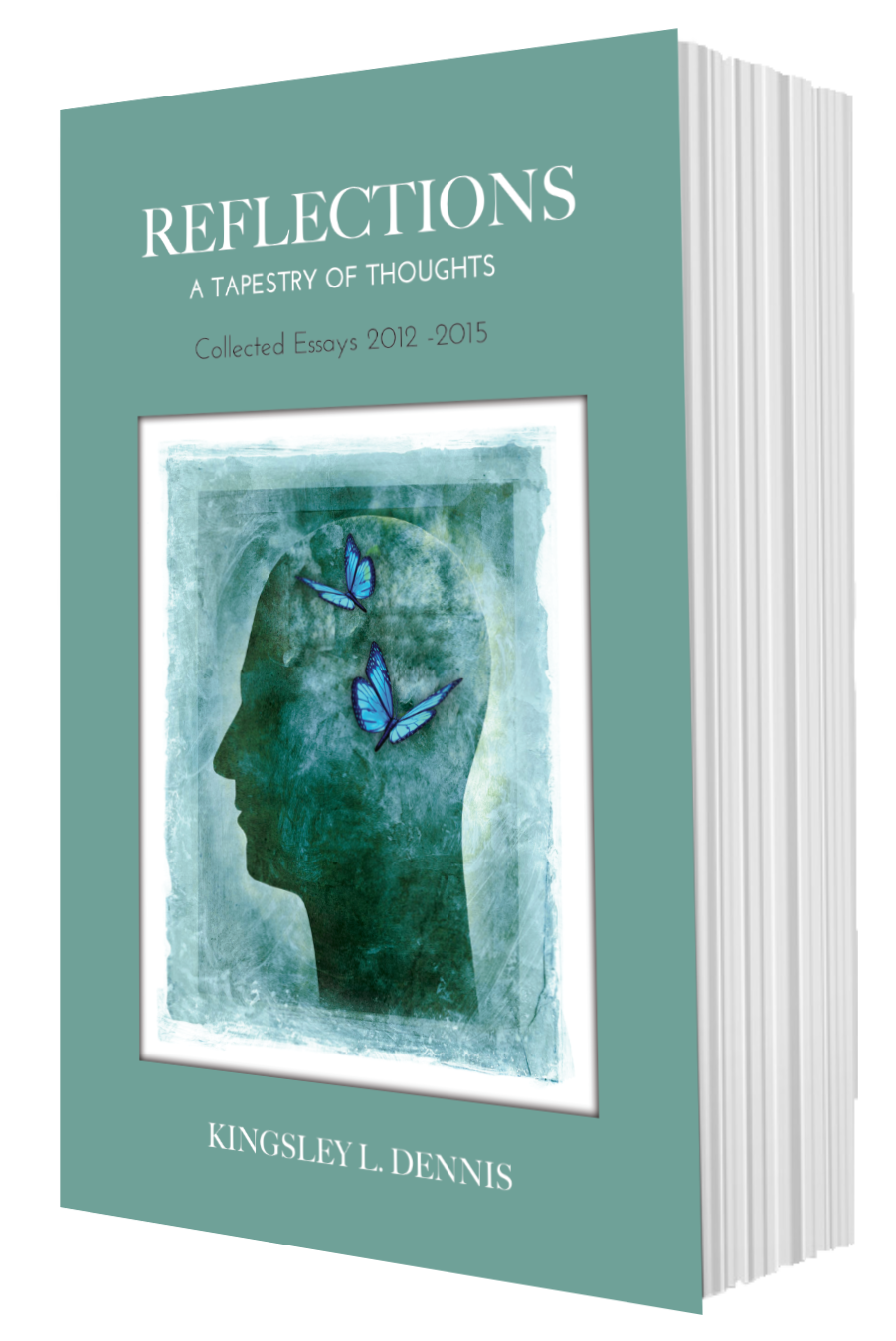 Reflection front book shape
